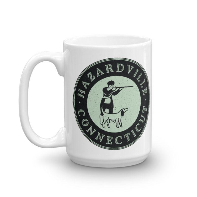 Hunter and his dog - Hazardville Connecticut Coffee Mug