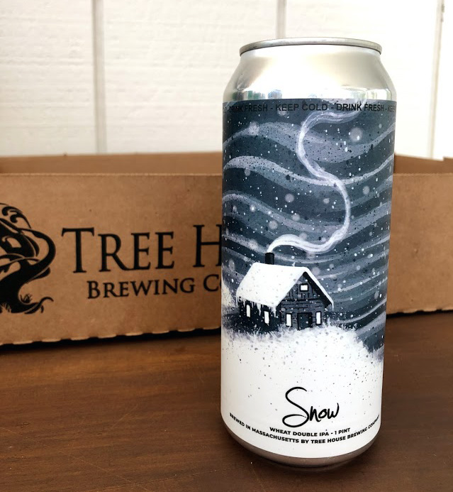 """""""Snow"""" Wheat Double IPA Tree House Brewing"""