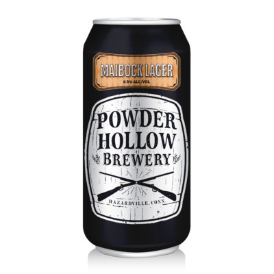 Maibock Lager Powder Hollow Can