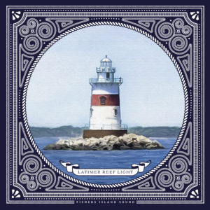Latimer Reef Lighthouse Art Print