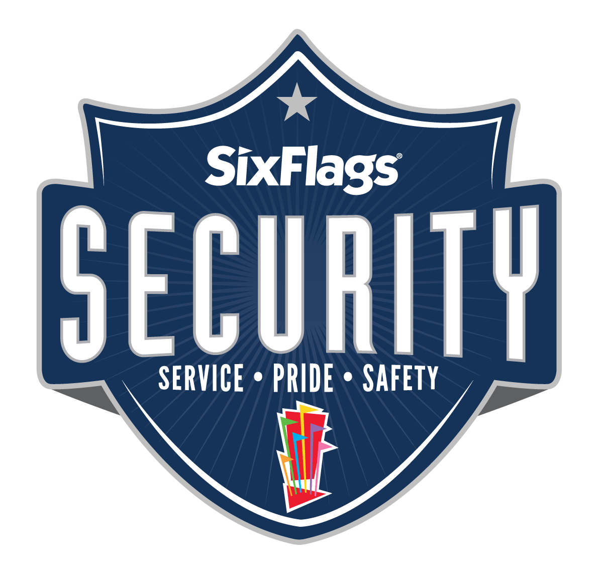 Six Flags Security Logo
