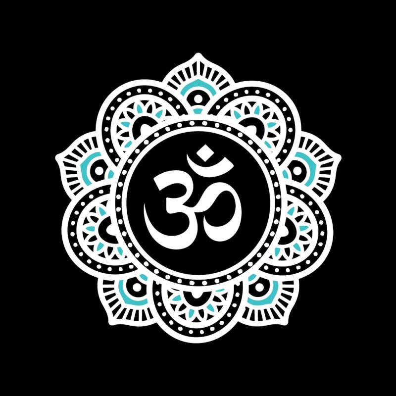 Mandela-style yoga logo
