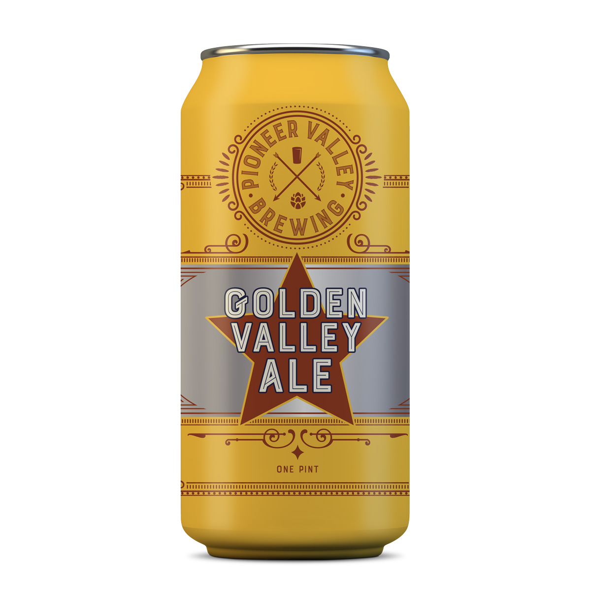 Golden Valley Ale | Pioneer Valley Brewery