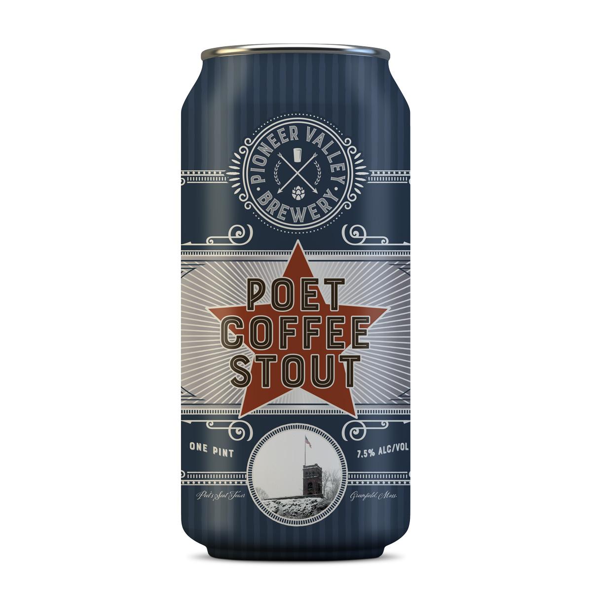 Poet Coffee Stout | Pioneer Valley Brewery