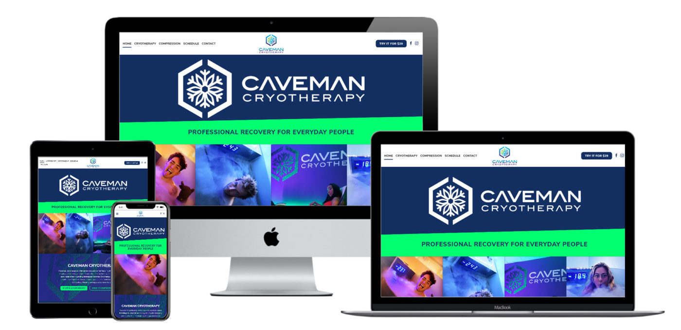 Caveman-Cryotherapy-Website