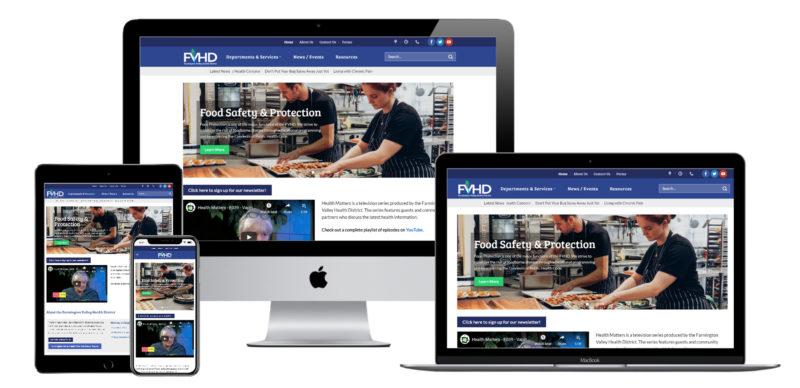 Farmington-Valley-Health-District-Website