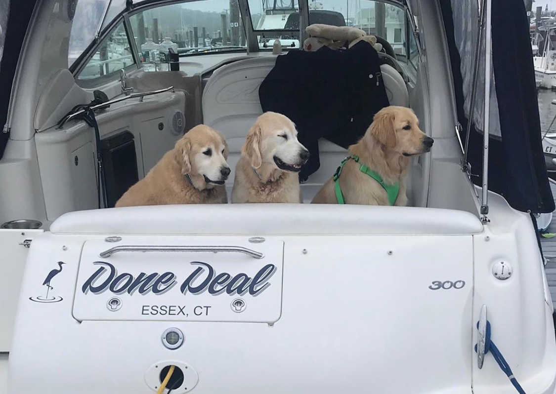 """Done Deal"" Boat Decal"