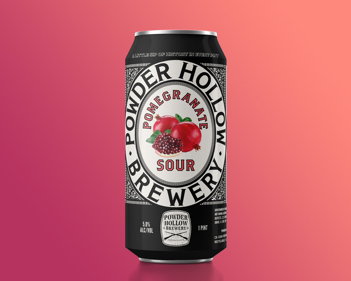 Pomegranate Sour by Powder Hollow Brewery