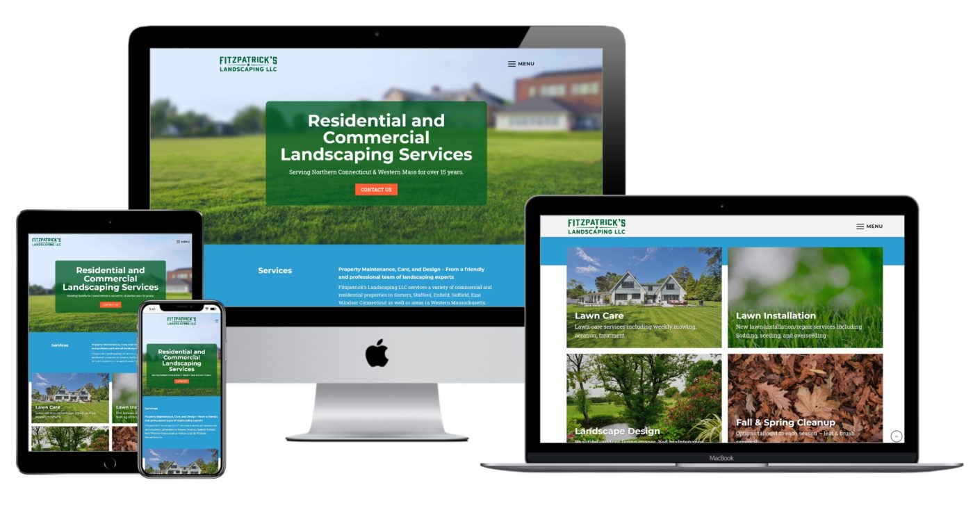 Fitzpatrick's Landscaping Website