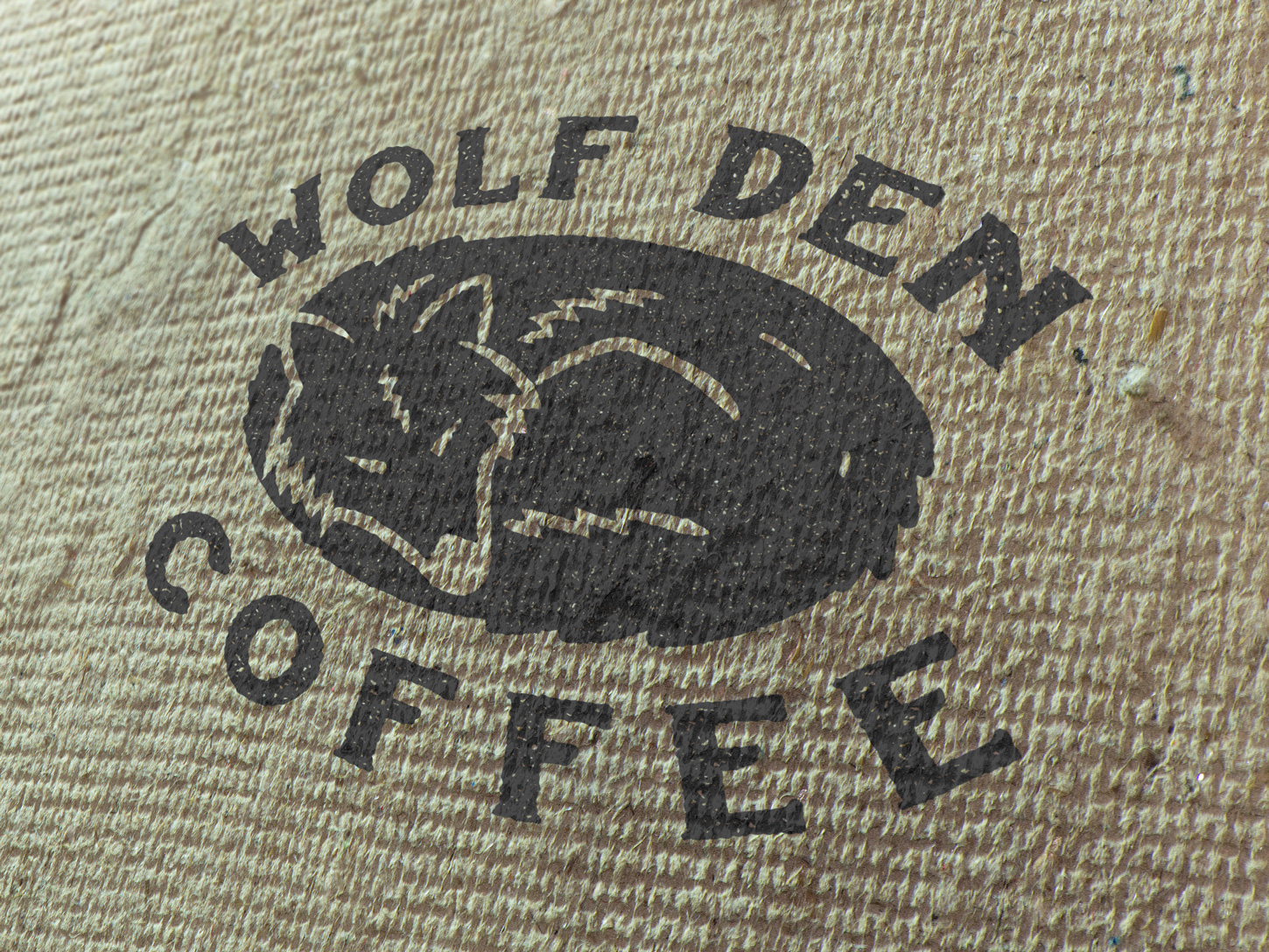 Logo for Wolf Den Coffee Co.