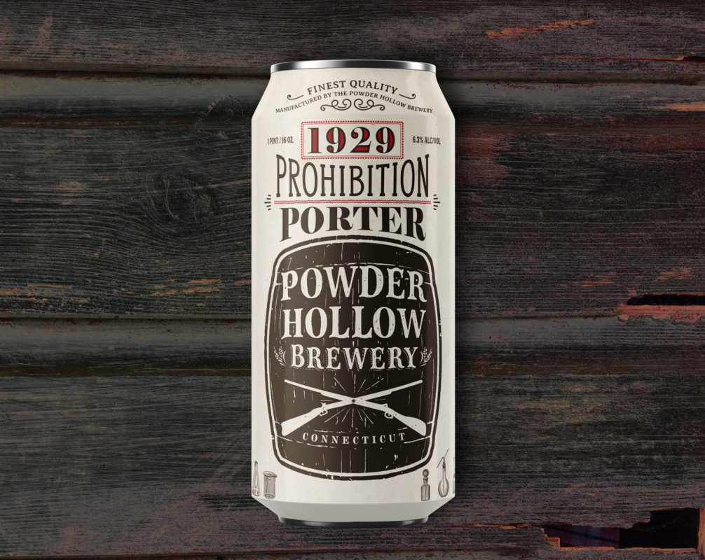 1929 Prohibition Porter by Powder Hollow Brewery