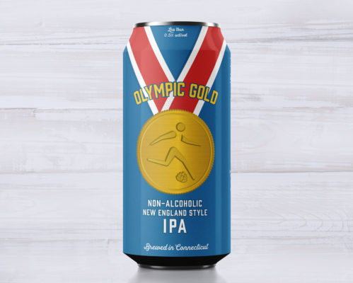 Olympic Gold Non-Alcoholic Beer - NEIPA
