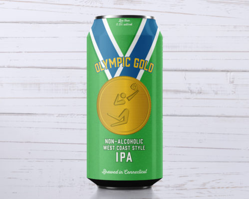 Olympic Gold Non-Alcoholic Beer - West Coast IPA