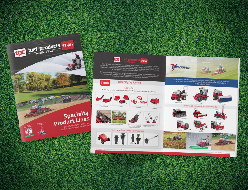 Specialty Lines Brochure for Turf Products